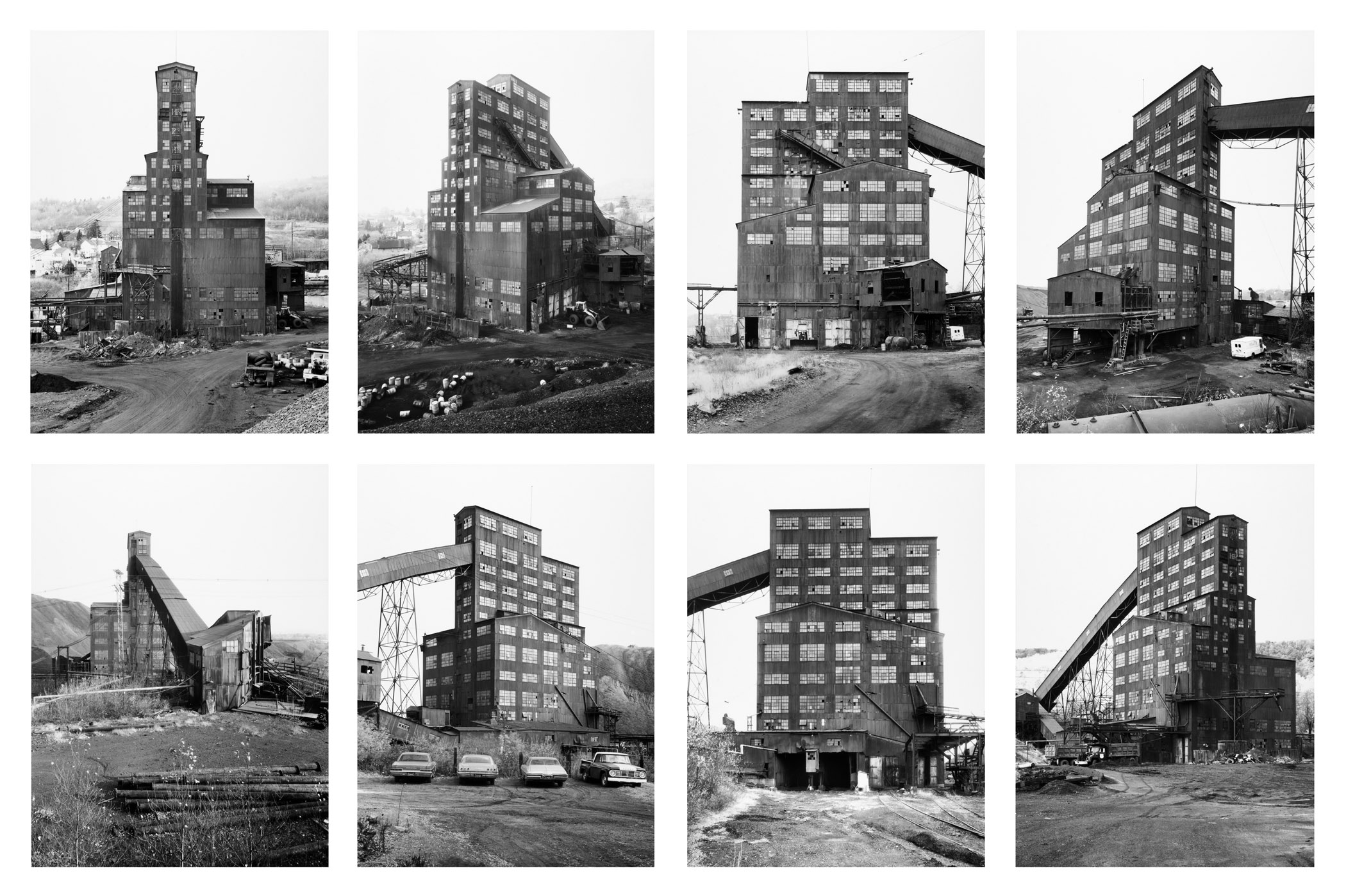 Famous German Architects Bernd And Hilla Becher Sotto La Vernice
